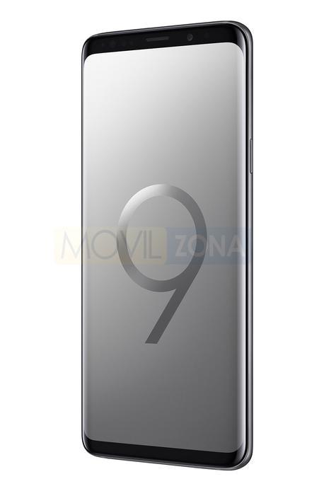 Samsung Galaxy S9+ plateado
