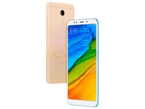 Xiaomi Redmi 5 Plus blanco y dorado