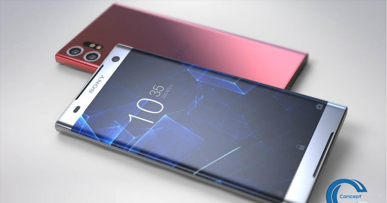 concept Sony Xperia