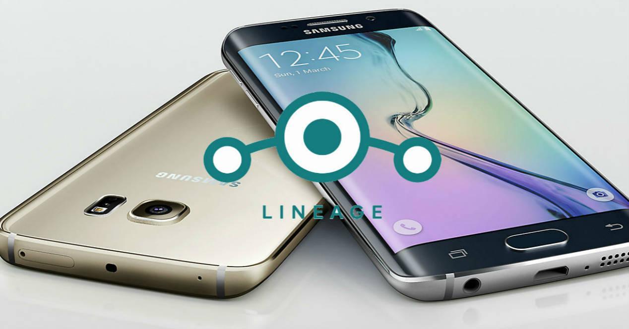 Galaxy s6 edge LineageOS