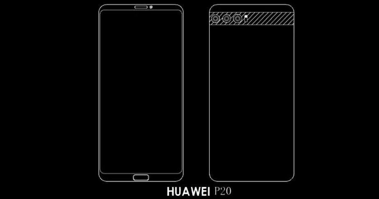 Diseño Huawei P20