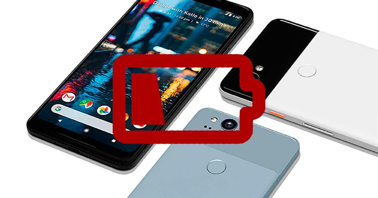 autonomía del Google Pixel 2