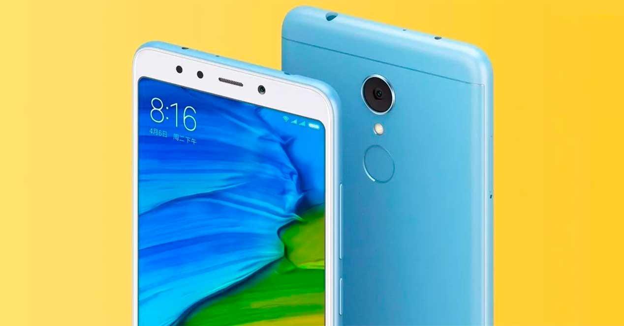 actualización para el Xiaomi Redmi 5