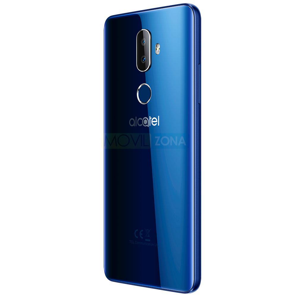 Alcatel 3V en color azul con sistema operativo Android