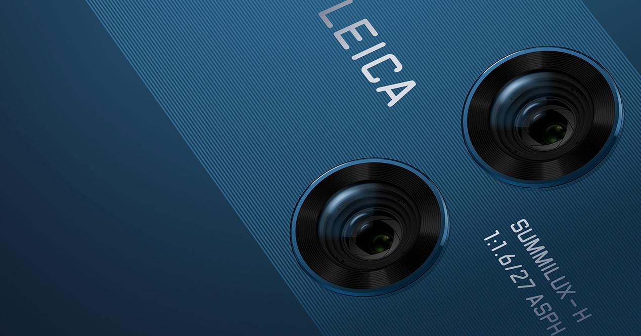 Cámara del Huawei P20