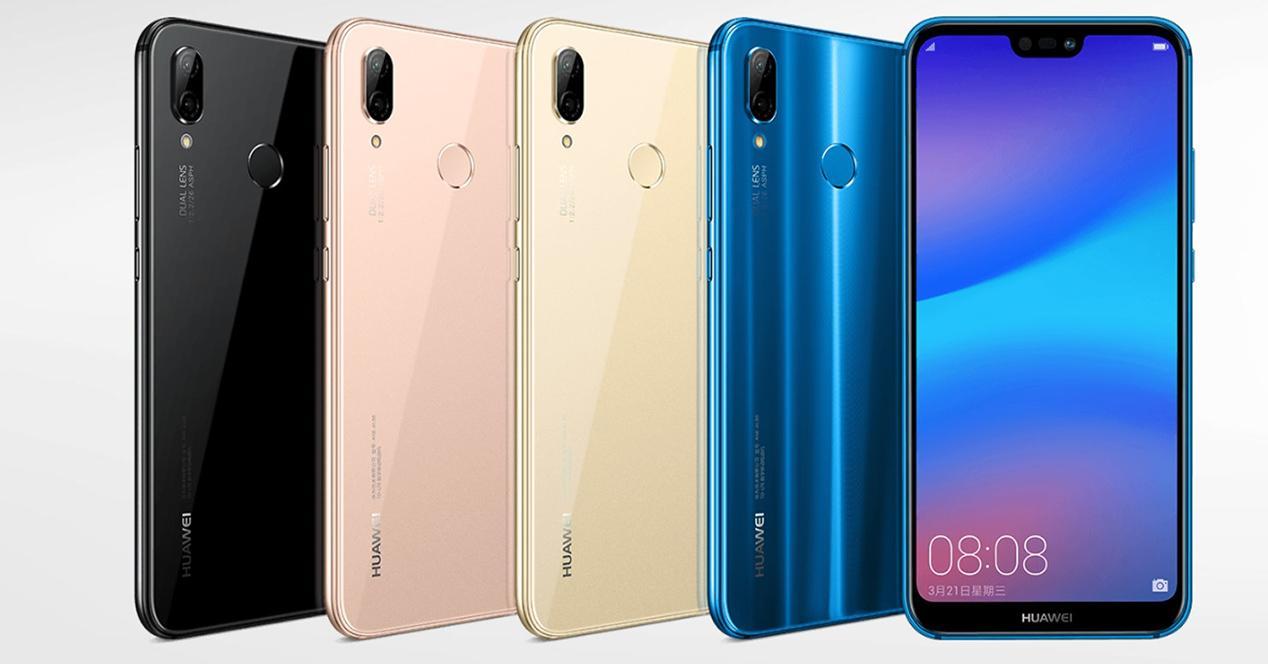 Comparativa Huawei P20 Lite