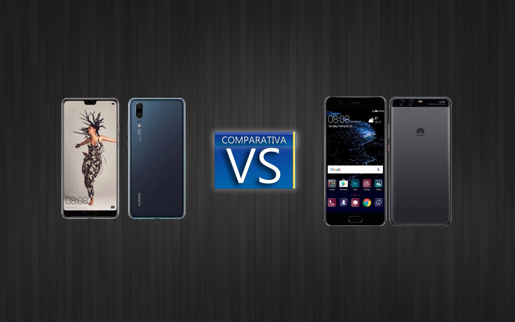 Comparativa del Huawei P20