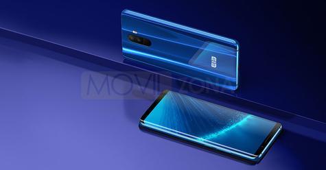 Elephone U Pro azul brillante