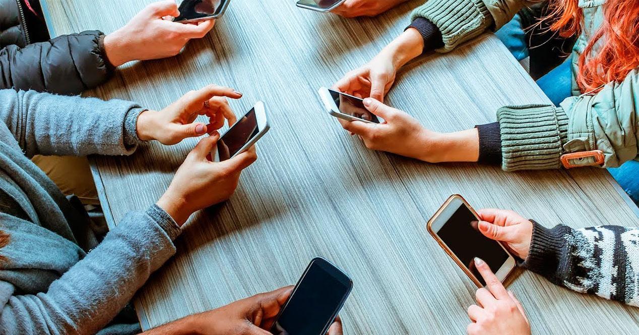 Estadísticas de uso del smartphone