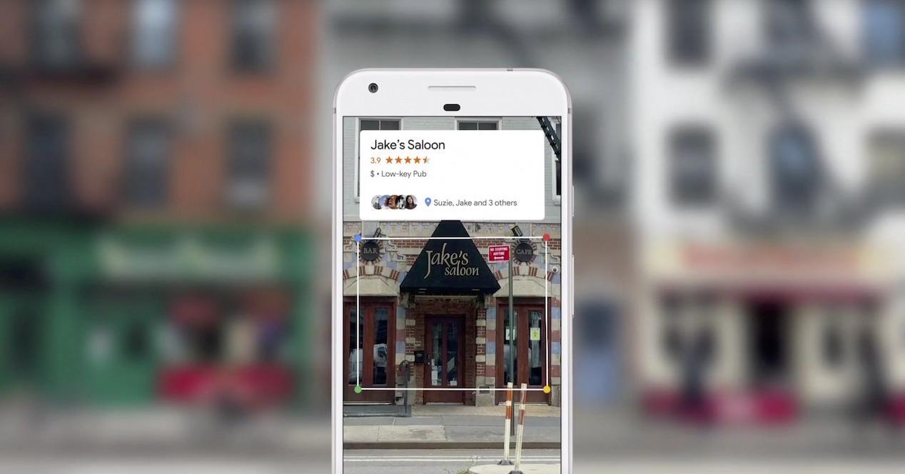Google Lens en un Google Pixel 2 XL