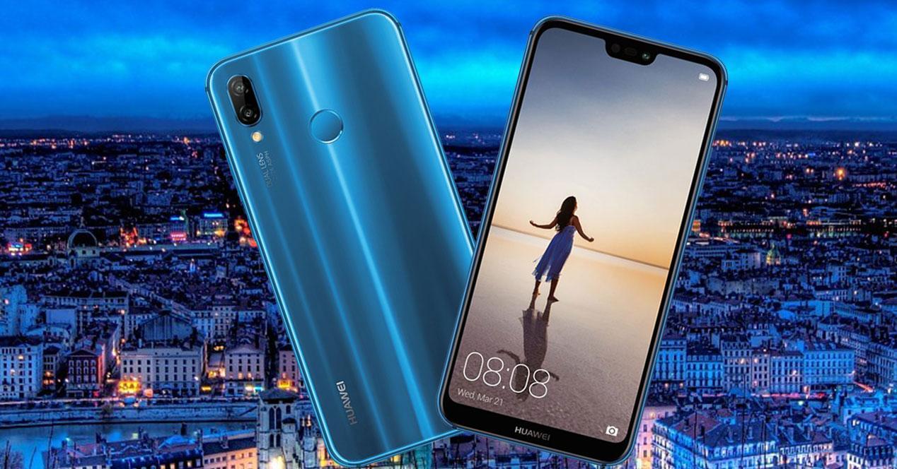 Presentación oficial del Huawei P20 Lite