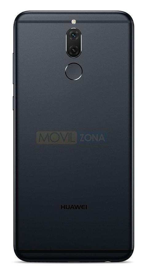 Huawei Mate 10 Lite vista trasera y de la cámara