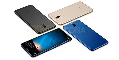 Huawei Mate 10 Lite en cuatro colores