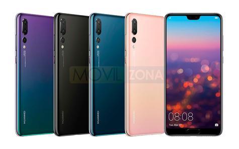 Huawei P20 gama de colores