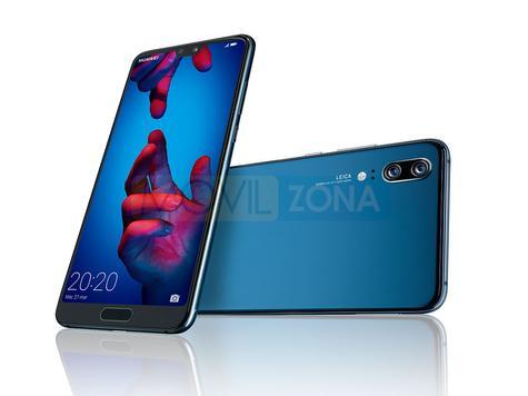 Huawei P20 negro y azul