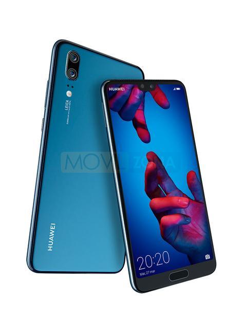 Huawei P20 azul doble cámara