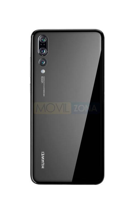 Huawei P20 Pro negro cámara trasera