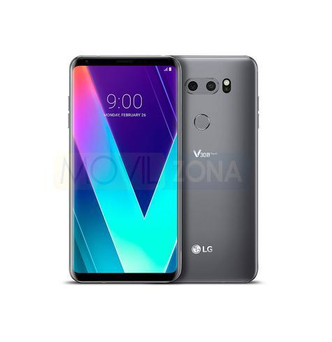 LG V30S ThinQ en color negro y plata