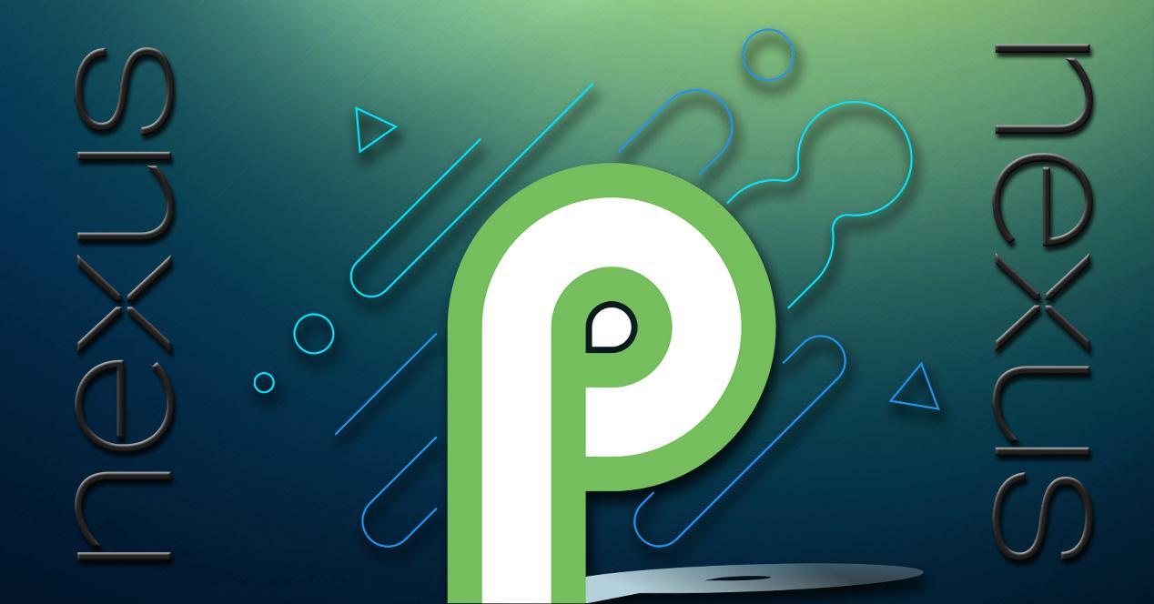Logos de Nexus y Android P