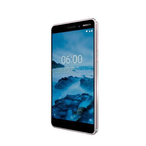 Nokia 6 negro vista lateral