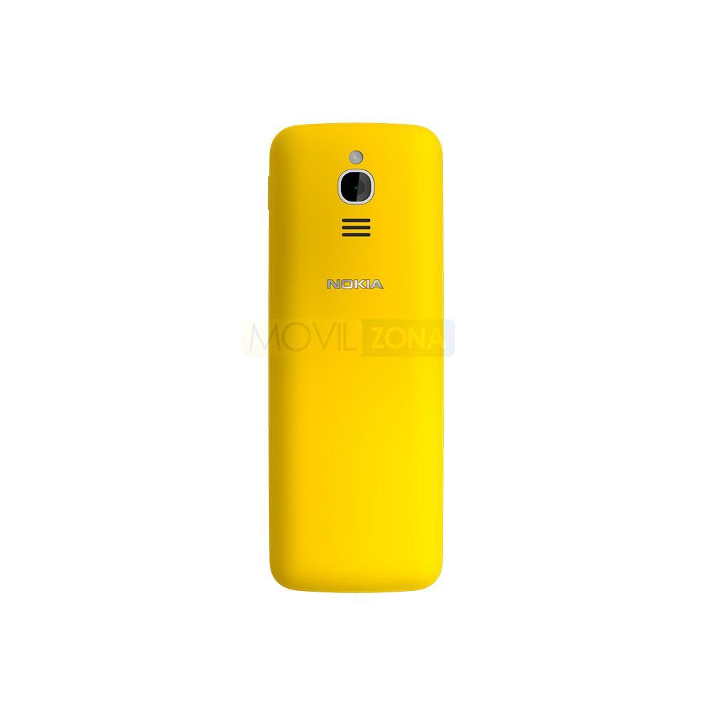 Nokia 8110 amarillo vista trasera de la cámara digital