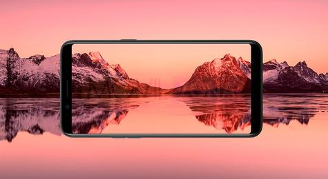 Oppo A83 pantalla panorámica