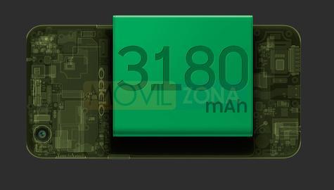 Oppo A83 batería capacidad