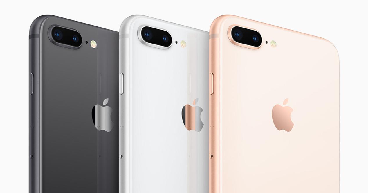 Trasera del iPhone 8 Plus