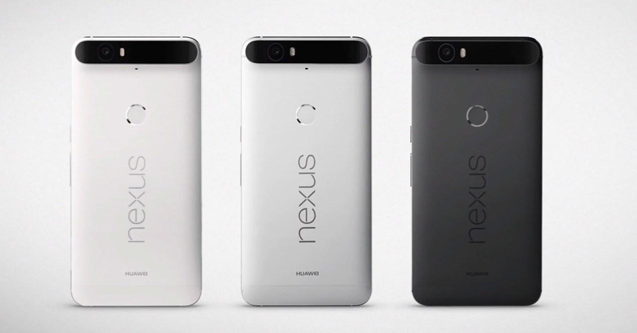 Trasera del Nexus 6P