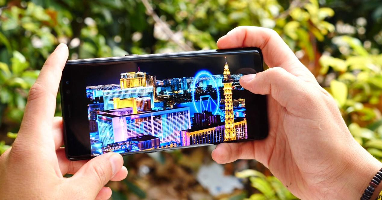 Pantalla Infinity Display del Samsung Galaxy Note 8