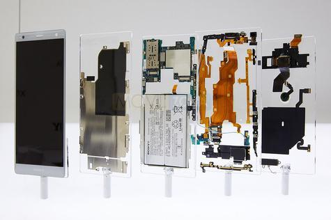 Sony Xperia XZ2 partes del teléfono