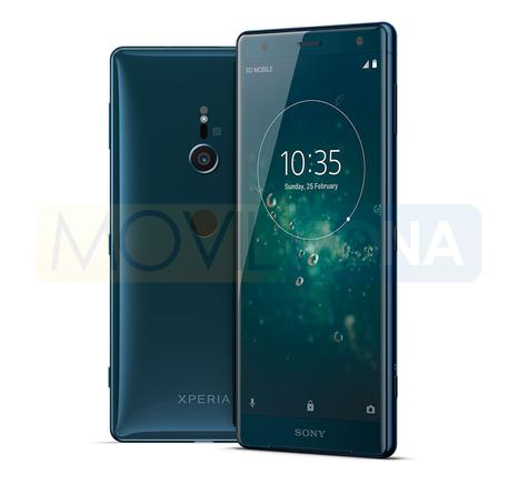 Sony Xperia XZ2 vista lateral