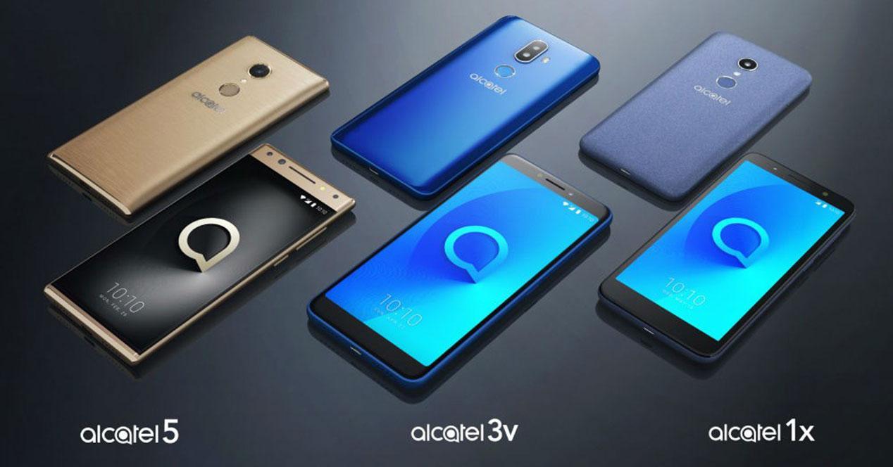 alcatel 1x, alcatel 3v, alcatel 5