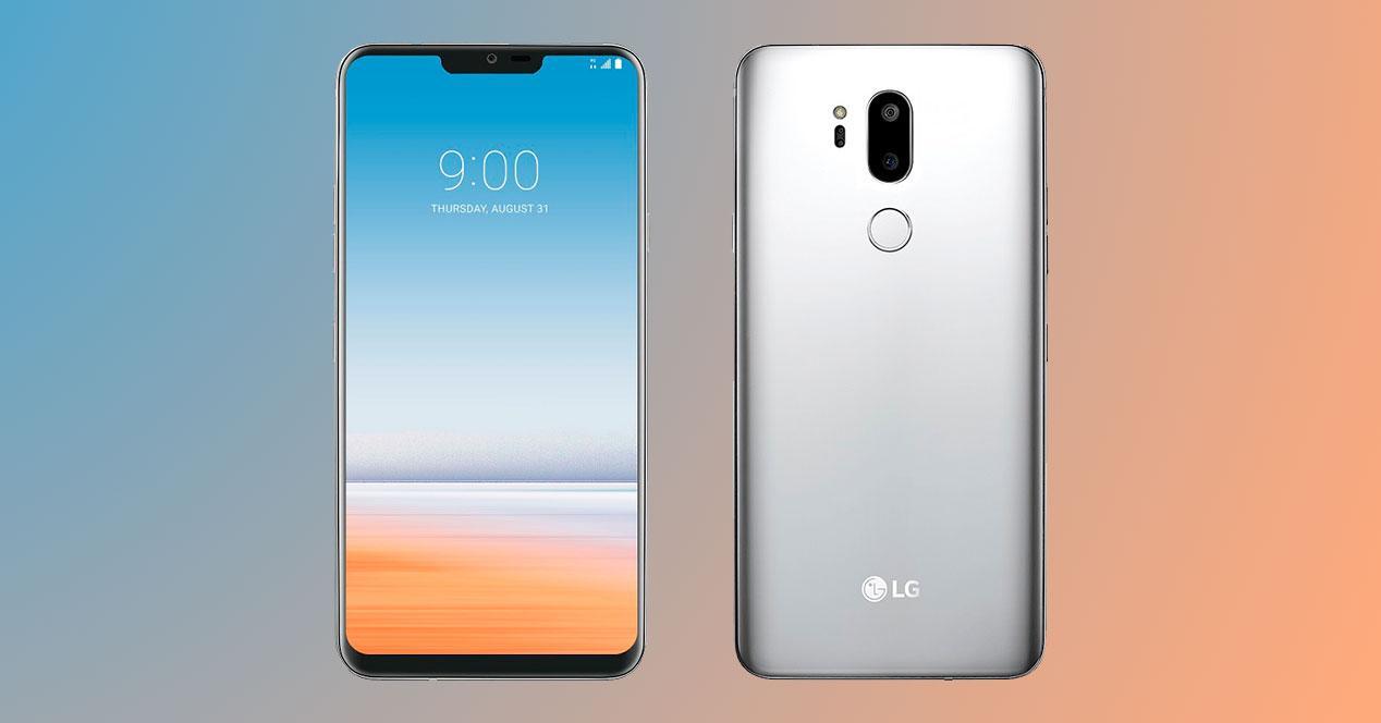 pantalla del LG G7