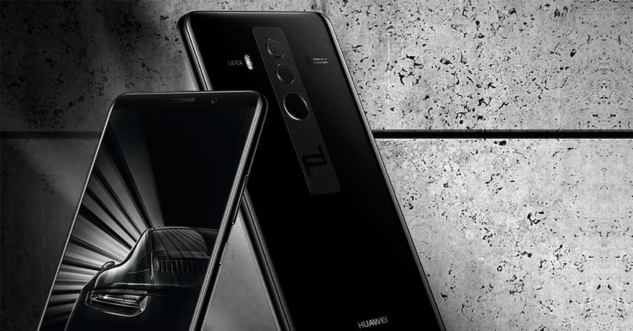 almacenamiento del Huawei MateRS