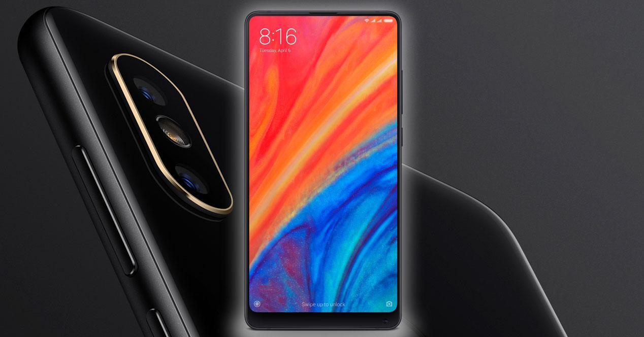 Xiaomi Mi Mix 2S negro