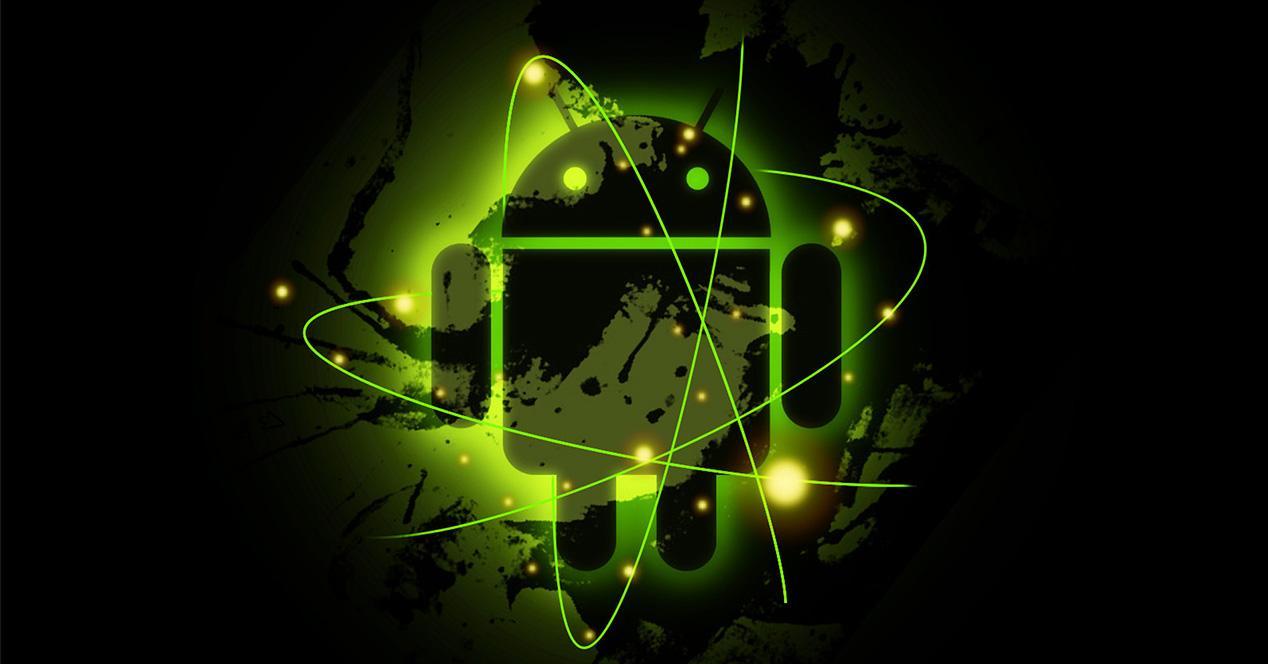 Muñeco verde de Android