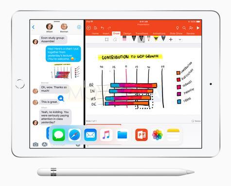 Apple iPad 9.7 con dibujos a mano alzada