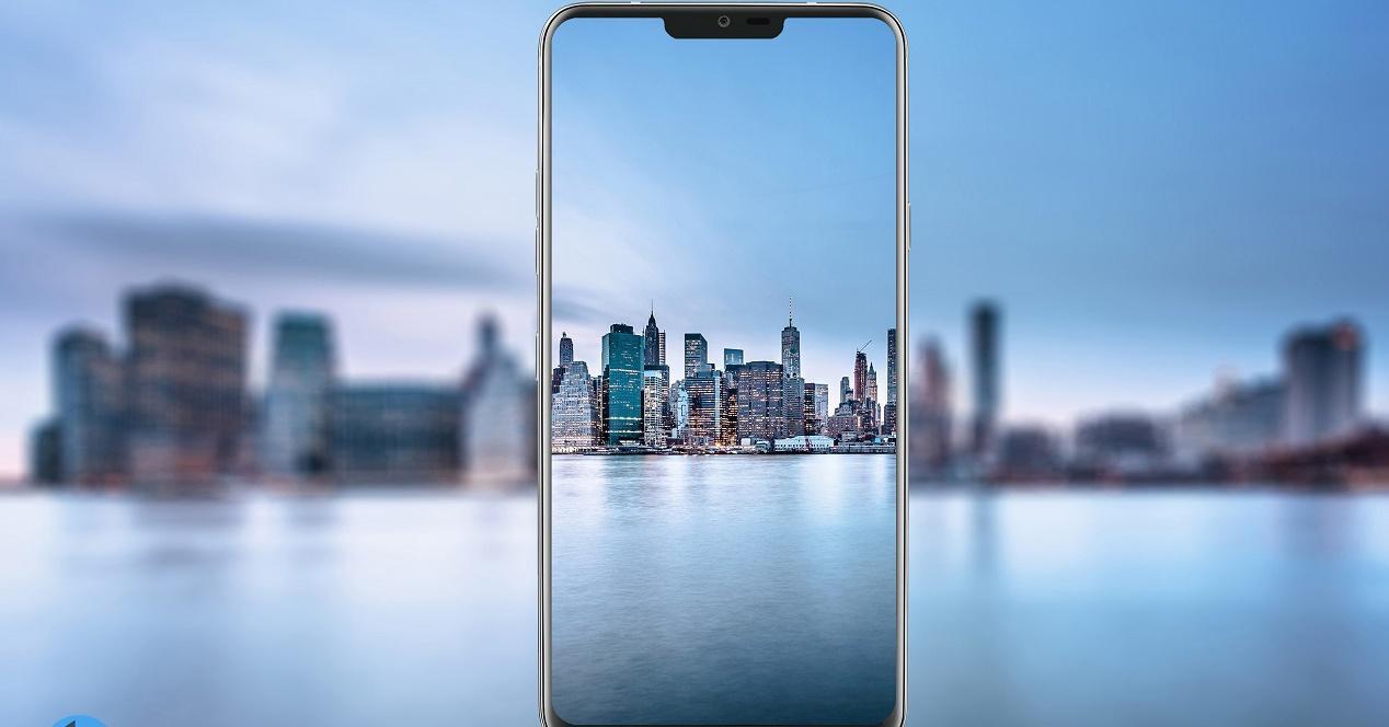 Botón dedicado del LG G7