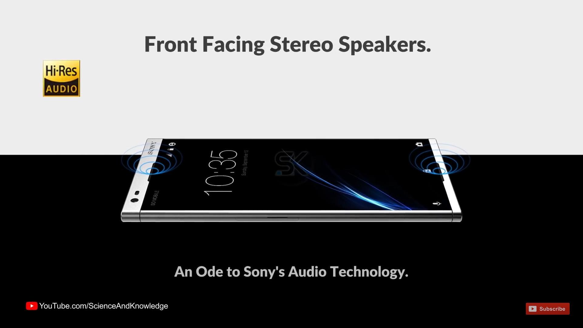 Diseño del Sony Xperia A