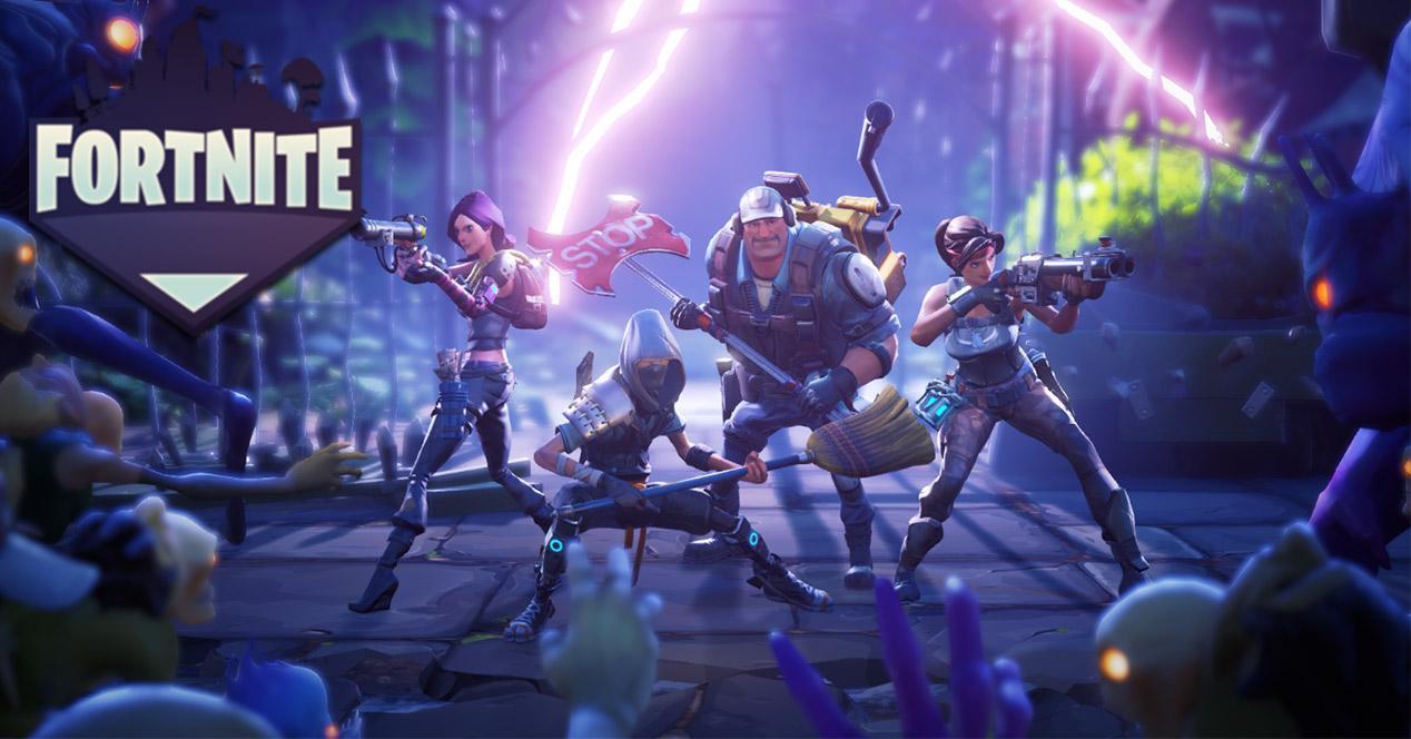 Secuencia del juego Fortnite Battle Royale