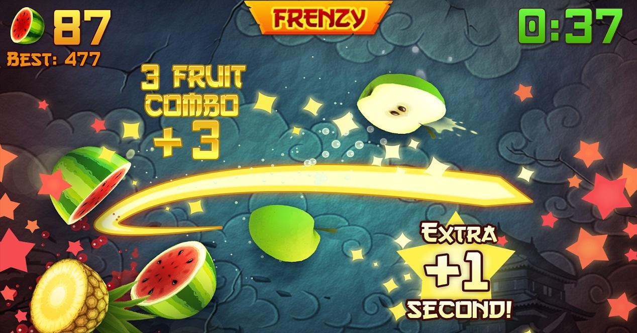 Juegos para dos jugadores-Fruit Ninja