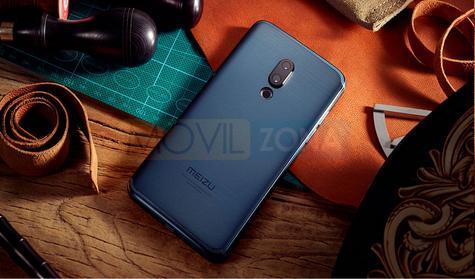 Meizu 15 azul