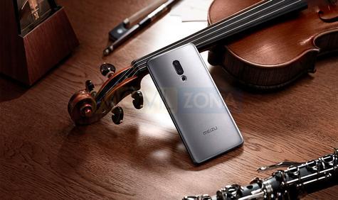 Meizu M15 Plus gris con violin