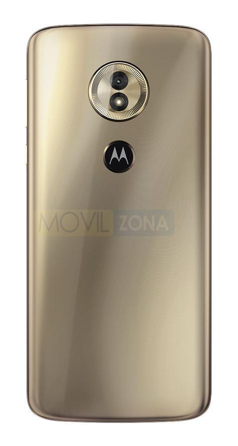 Motorola Moto G6 Play dorado vista trasera
