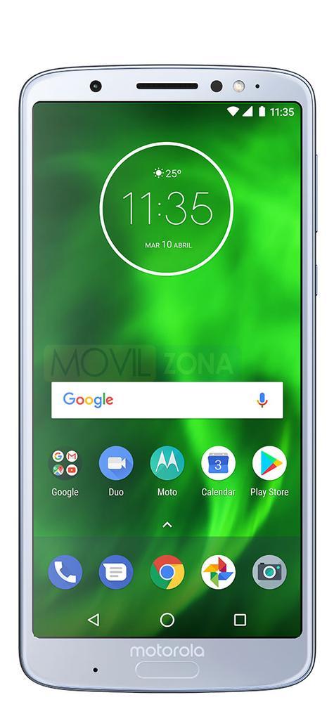 Motorola Moto G6 Plus blanco