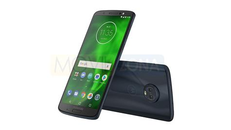 Motorola Moto G6 Plus vista delantera y trasera