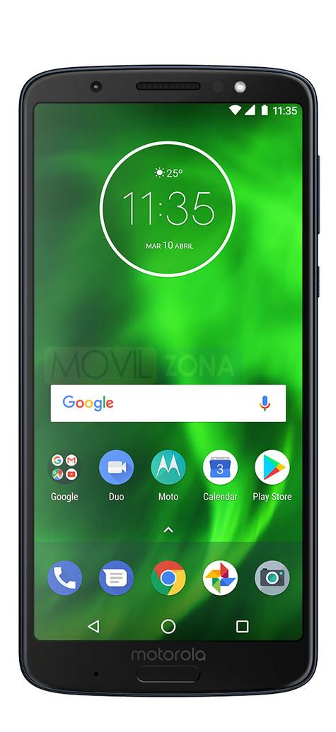 Motorola Moto G6 Plus negro