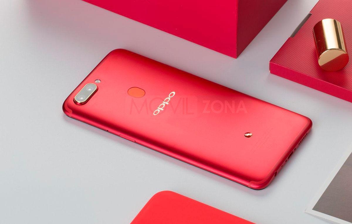 Oppo R11S rojo