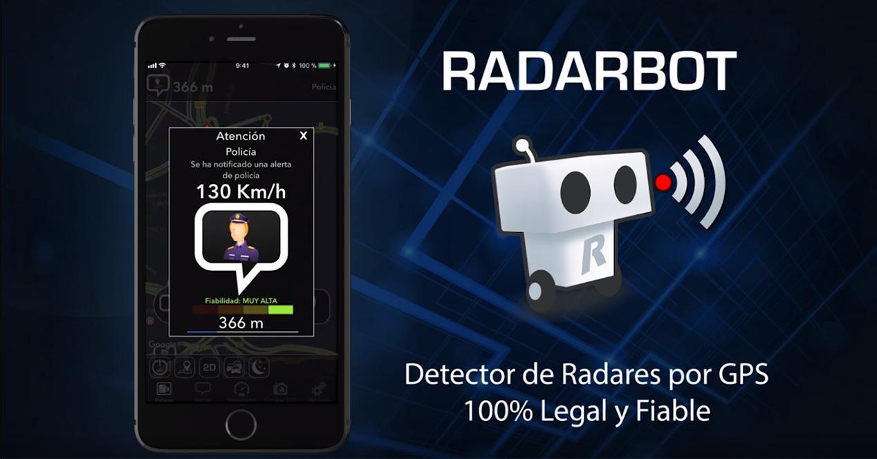 App para detectar radares Radarbot